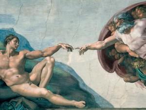 Сътворението - Микеланджело