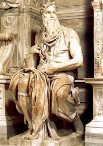 Скулпура на Моисей - Микеланджело