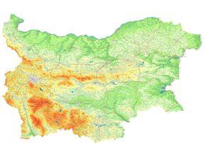 Територията на България